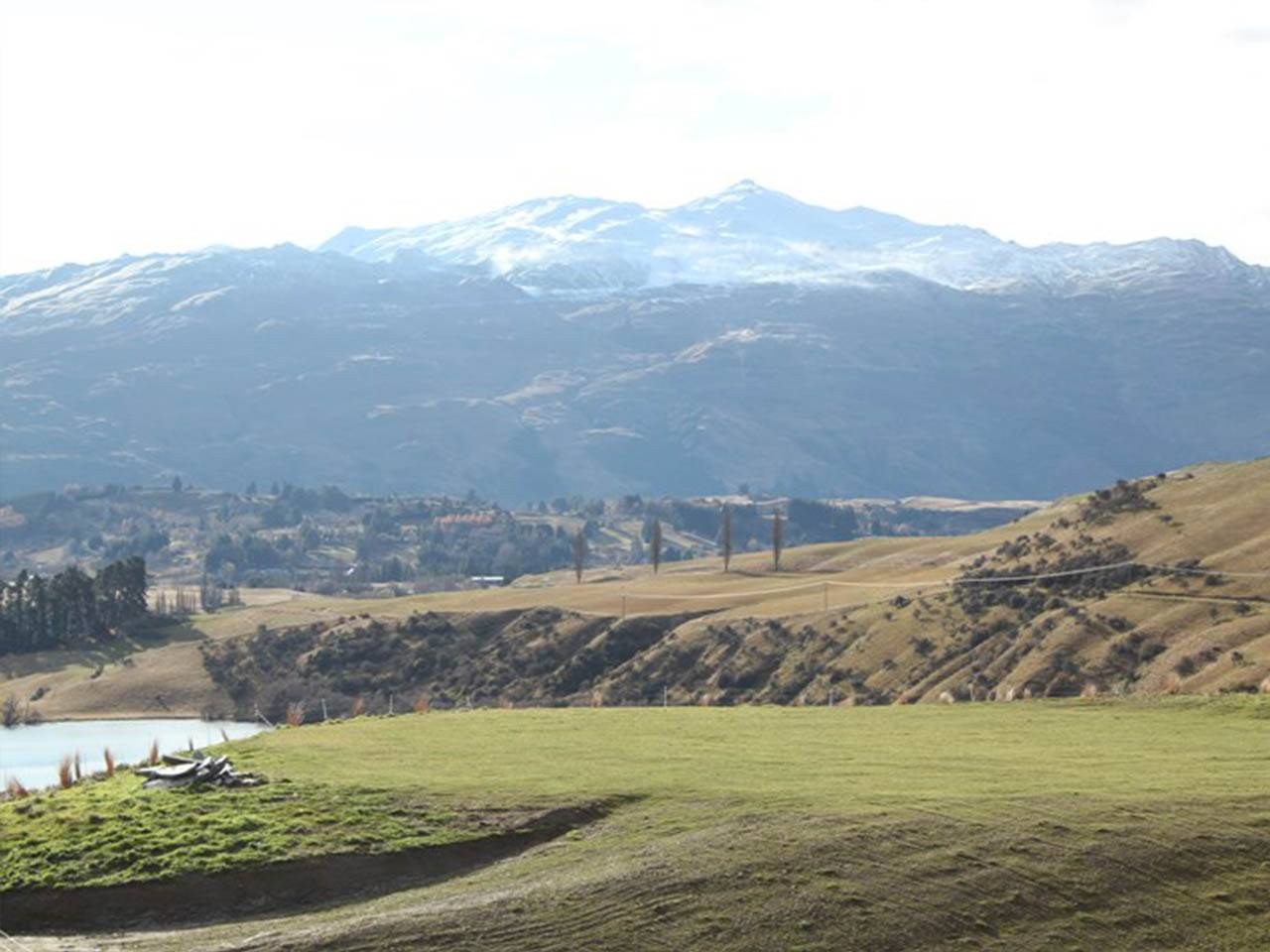 View of Coronet Peak from Merino Rise, Queenstown
